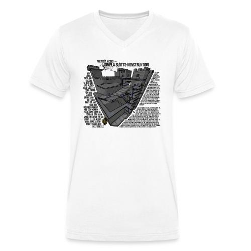 Jacobs Slott - Ekologisk T-shirt med V-ringning herr från Stanley & Stella
