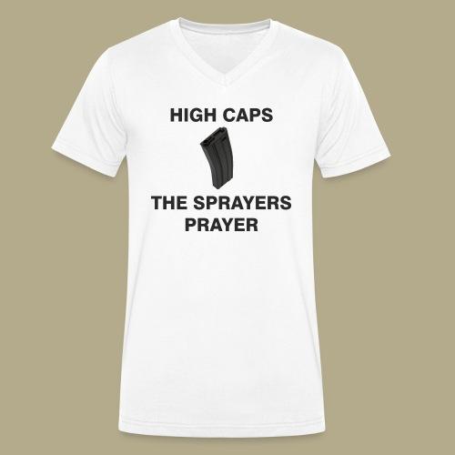 Sprayers Prayer - Mannen bio T-shirt met V-hals van Stanley & Stella