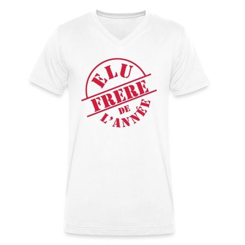 Elu Frère de l'année - T-shirt bio col V Stanley & Stella Homme