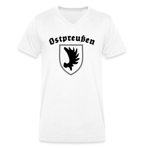 Ostpreußen - Männer Bio-T-Shirt mit V-Ausschnitt von Stanley & Stella