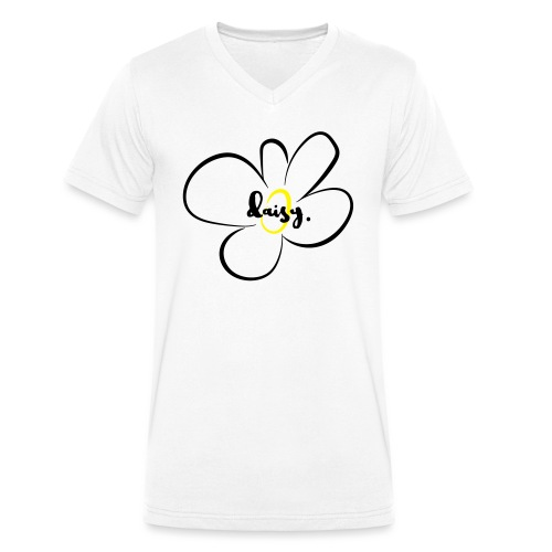 Gänseblümchen - Männer Bio-T-Shirt mit V-Ausschnitt von Stanley & Stella