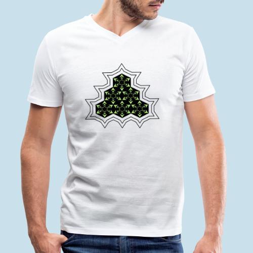 Stern - Männer Bio-T-Shirt mit V-Ausschnitt von Stanley & Stella
