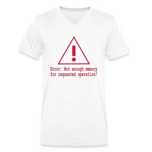 Error Nerd - Männer Bio-T-Shirt mit V-Ausschnitt von Stanley & Stella
