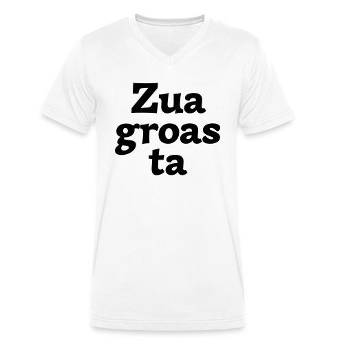 Zuagroasta - Männer Bio-T-Shirt mit V-Ausschnitt von Stanley & Stella