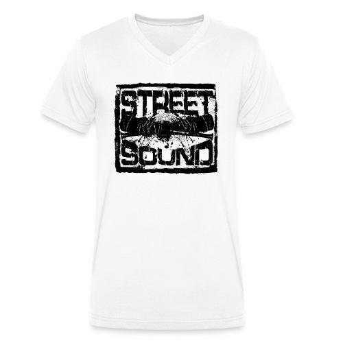 Street Sound - Männer Bio-T-Shirt mit V-Ausschnitt von Stanley & Stella