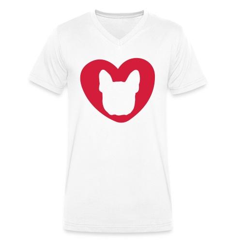 bullyfiziert - Männer Bio-T-Shirt mit V-Ausschnitt von Stanley & Stella