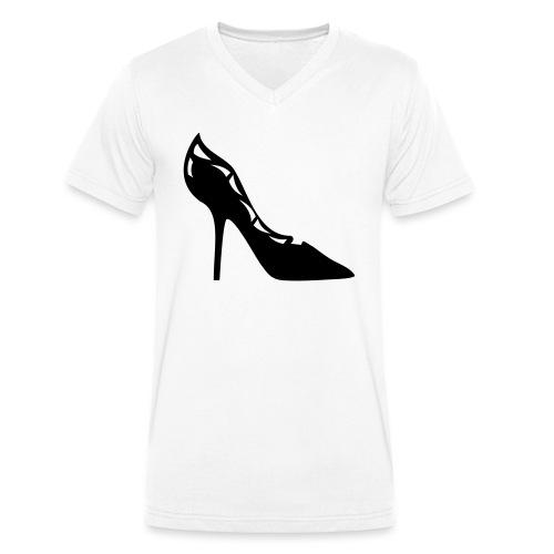 Stilhetto - Men's Organic V-Neck T-Shirt by Stanley & Stella