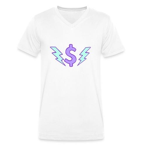 Enegie - Männer Bio-T-Shirt mit V-Ausschnitt von Stanley & Stella