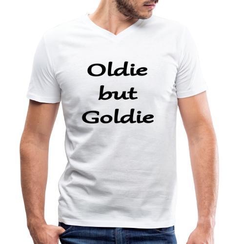 Oldie But Goldie - Männer Bio-T-Shirt mit V-Ausschnitt von Stanley & Stella