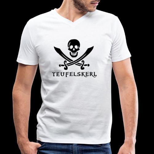 ~ Teufelskerl ~ - Männer Bio-T-Shirt mit V-Ausschnitt von Stanley & Stella