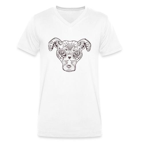 Sugar Dog - Männer Bio-T-Shirt mit V-Ausschnitt von Stanley & Stella