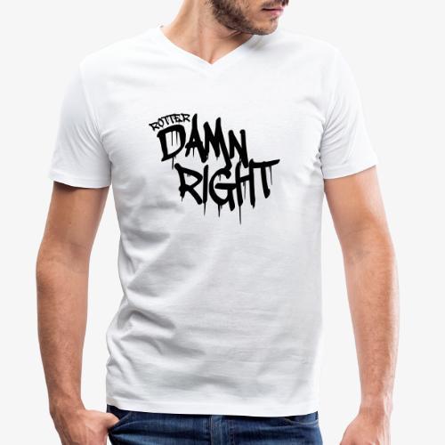 Rotterdamnright - Mannen bio T-shirt met V-hals van Stanley & Stella