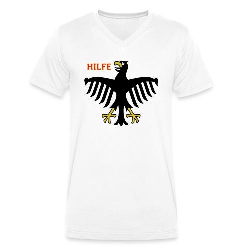 Deutschland in Not - Männer Bio-T-Shirt mit V-Ausschnitt von Stanley & Stella