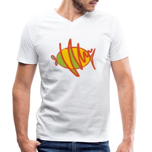 fish - Männer Bio-T-Shirt mit V-Ausschnitt von Stanley & Stella