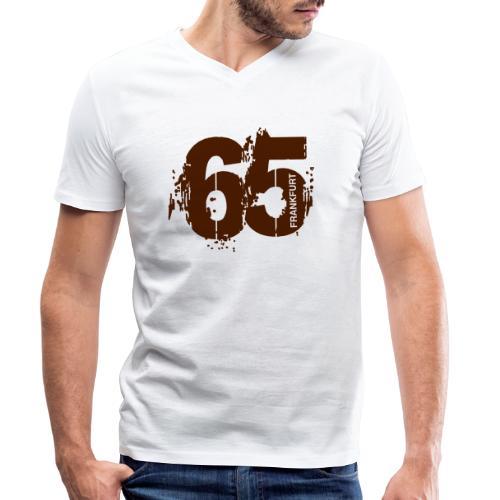 City_65_Frankfurt - Männer Bio-T-Shirt mit V-Ausschnitt von Stanley & Stella