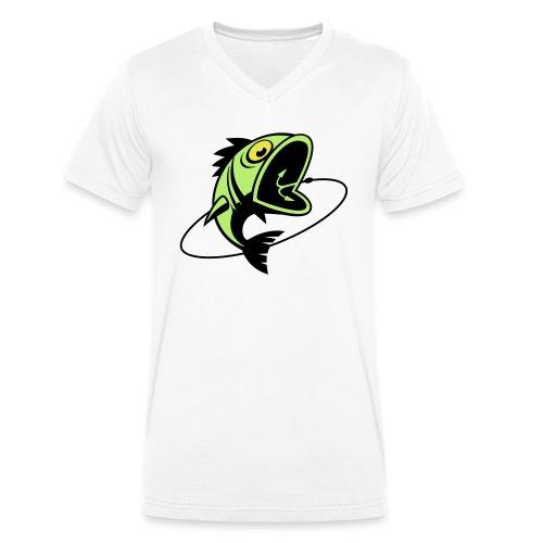 VL107B_BigFish_3c - Männer Bio-T-Shirt mit V-Ausschnitt von Stanley & Stella