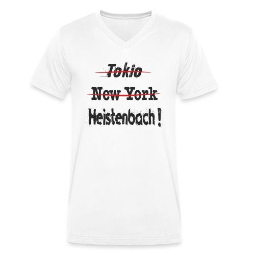 65558 Heistenbach - Männer Bio-T-Shirt mit V-Ausschnitt von Stanley & Stella