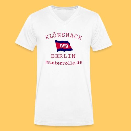 KiB-Logo-gif - Männer Bio-T-Shirt mit V-Ausschnitt von Stanley & Stella
