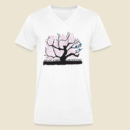Frühling Melancholia - Männer Bio-T-Shirt mit V-Ausschnitt von Stanley & Stella