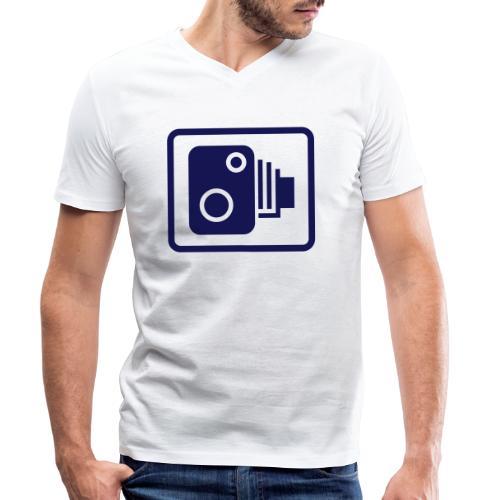 camera03 - Männer Bio-T-Shirt mit V-Ausschnitt von Stanley & Stella