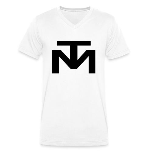 TM_logo_2018_clean - Männer Bio-T-Shirt mit V-Ausschnitt von Stanley & Stella