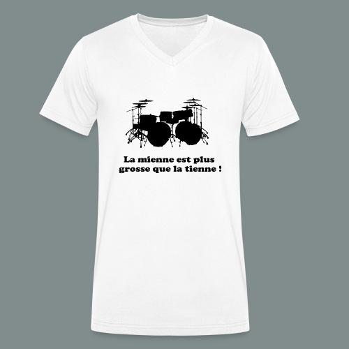 La mienne est plus grosse - T-shirt bio col V Stanley & Stella Homme