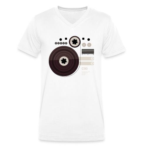 Tape parts: C90 - Men's Organic V-Neck T-Shirt by Stanley & Stella