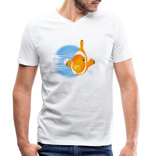 Poisson clown - T-shirt bio col V Stanley & Stella Homme