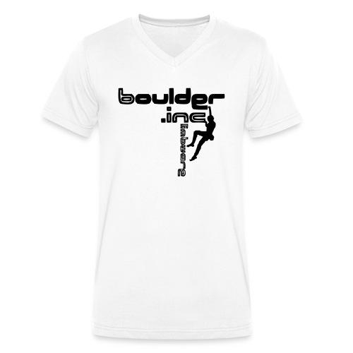 Go high - Männer Bio-T-Shirt mit V-Ausschnitt von Stanley & Stella