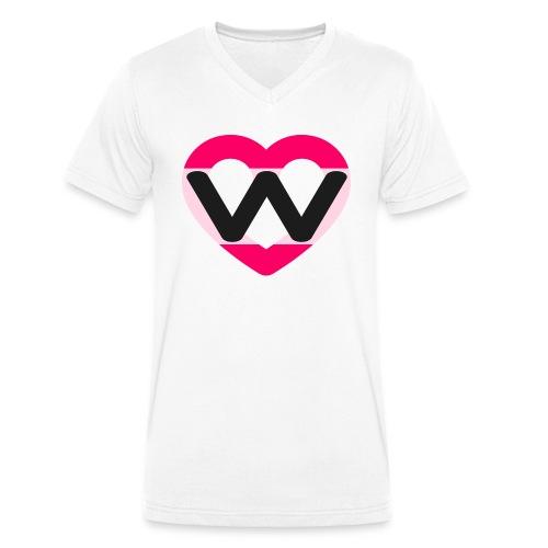 Sweet Beat - T-shirt ecologica da uomo con scollo a V di Stanley & Stella