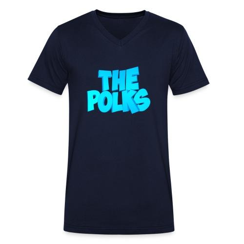 THEPolks - Camiseta ecológica hombre con cuello de pico de Stanley & Stella