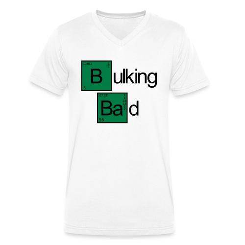 Bulking Bad - Männer Bio-T-Shirt mit V-Ausschnitt von Stanley & Stella