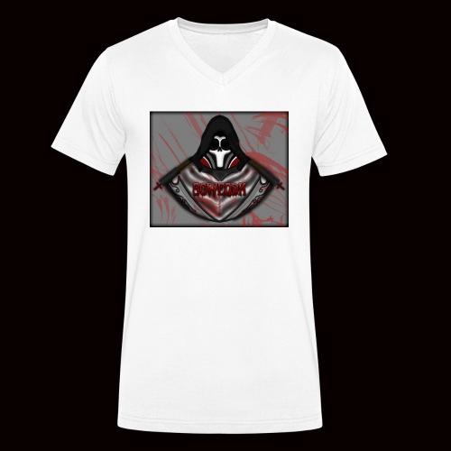 SoWeQDK Reaper ! - Økologisk Stanley & Stella T-shirt med V-udskæring til herrer