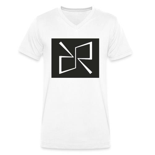 Rymdreglage logotype (RR) - Men's Organic V-Neck T-Shirt by Stanley & Stella
