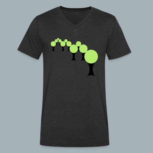Golden Rule Premium T-shirt - Mannen bio T-shirt met V-hals van Stanley & Stella