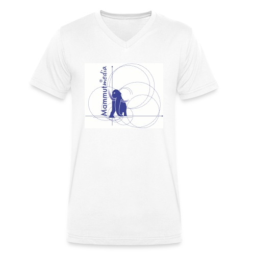 Mammutmedia magliette - T-shirt ecologica da uomo con scollo a V di Stanley & Stella