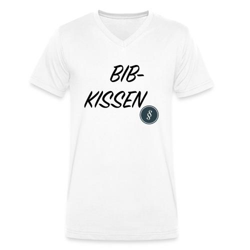 BIB-KISSEN - Männer Bio-T-Shirt mit V-Ausschnitt von Stanley & Stella