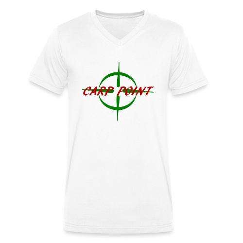 Carp Point - Männer Bio-T-Shirt mit V-Ausschnitt von Stanley & Stella