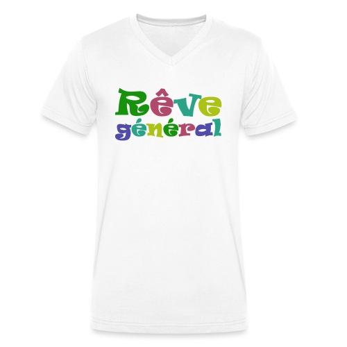 rêve général - T-shirt bio col V Stanley & Stella Homme