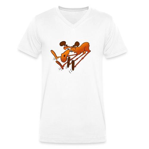 Bremselch - Männer Bio-T-Shirt mit V-Ausschnitt von Stanley & Stella