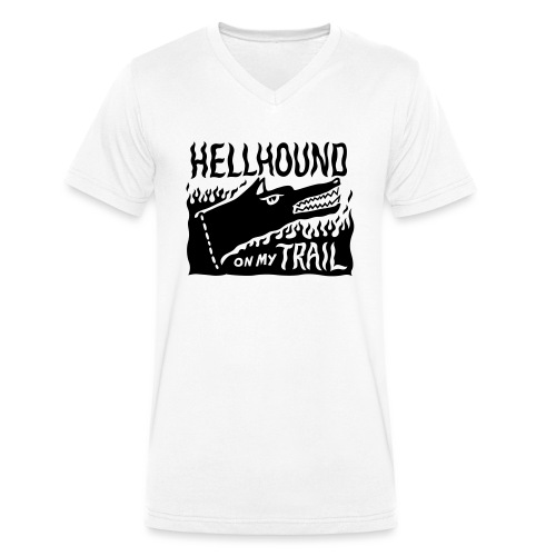 Hellhound on my trail - Men's Organic V-Neck T-Shirt by Stanley & Stella