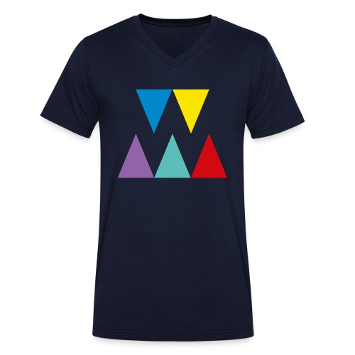 Logo We are les filles - T-shirt bio col V Stanley & Stella Homme