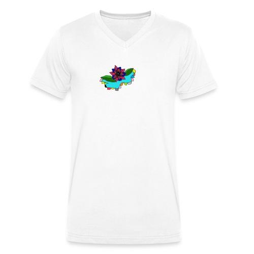 camista-png - Camiseta ecológica hombre con cuello de pico de Stanley & Stella
