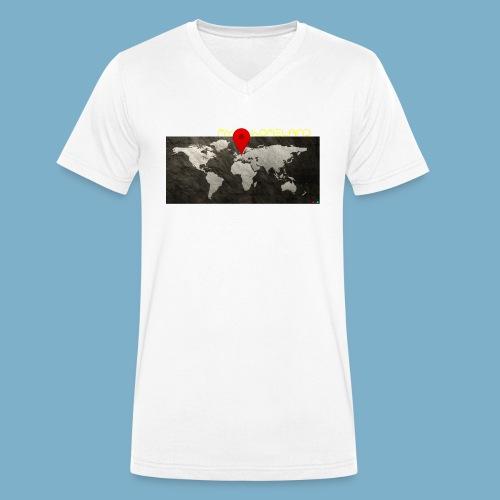 homeland my base - Männer Bio-T-Shirt mit V-Ausschnitt von Stanley & Stella
