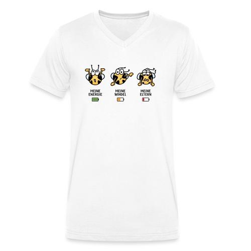 Babyindikator - Männer Bio-T-Shirt mit V-Ausschnitt von Stanley & Stella