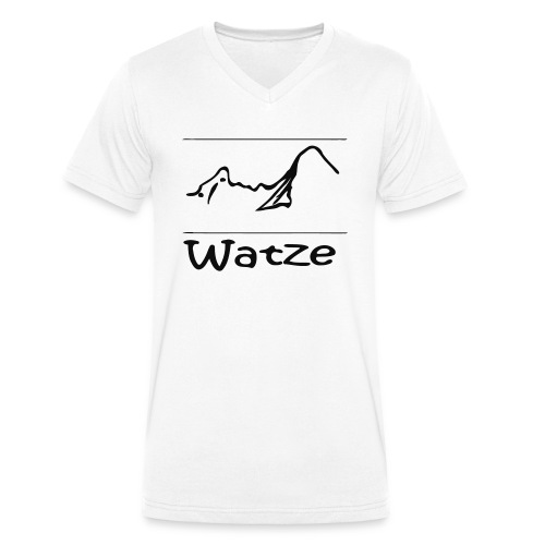 Watze - Männer Bio-T-Shirt mit V-Ausschnitt von Stanley & Stella