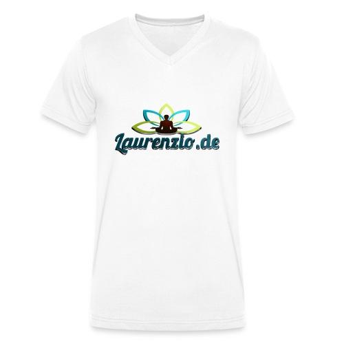 Laurenzio.de - Men's Organic V-Neck T-Shirt by Stanley & Stella