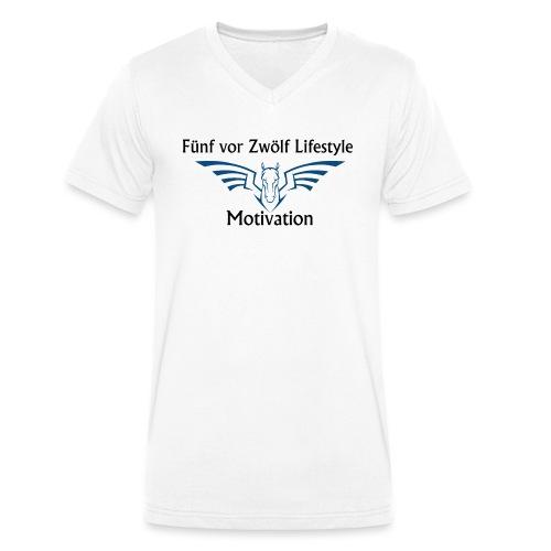 lifestyle Kaputzenpulli - Männer Bio-T-Shirt mit V-Ausschnitt von Stanley & Stella