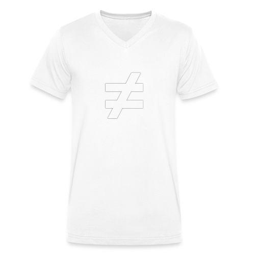 ≠ MOTIV - schwarzes Sweatshirt - Männer Bio-T-Shirt mit V-Ausschnitt von Stanley & Stella