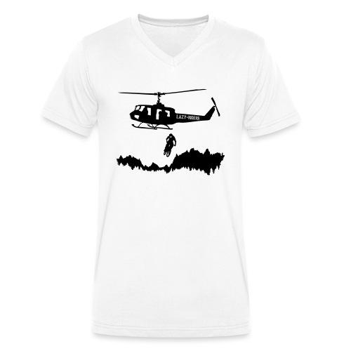 Helibiking - Männer Bio-T-Shirt mit V-Ausschnitt von Stanley & Stella